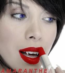 Gamme de Produits de beauté AMARANTHE pour vampires Rouge_11