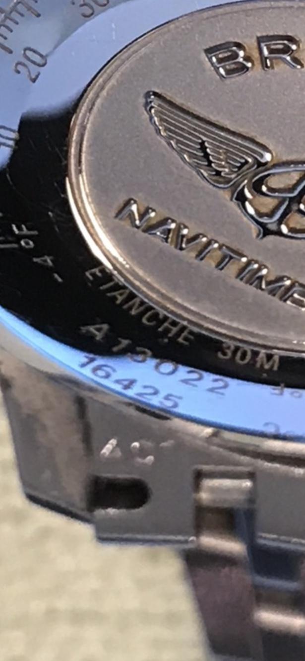 Breitling Navitimer A13022 cadran bleu  2a0c8210