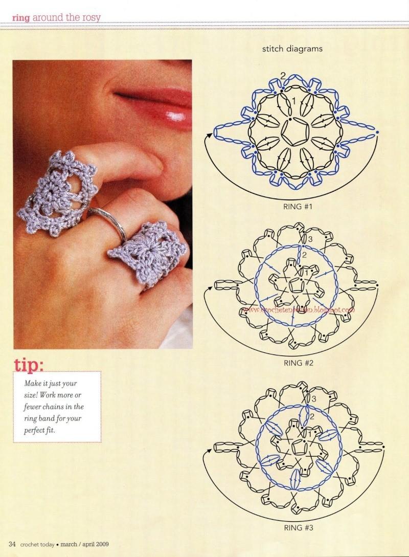 Moldes anillos de crochet Anillo10