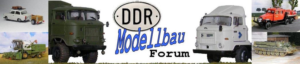 Modellfahrzeuge des DDR-Straßenbildes im Maßstab 1/87