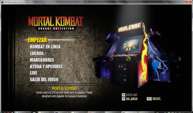 Mortal Kombat Arcade Kollection Multilenguaje (Español) (PC-GAME) Mk210
