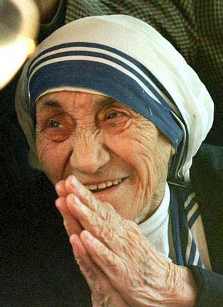 Mother Teresa's hands Mother11