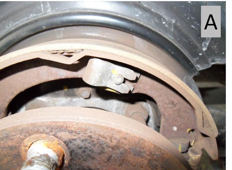 Frein à main - nettoyage mécanisme commande (sans demontage) Detail15