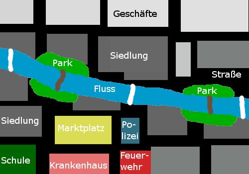 Die Stadt                     Karte-10