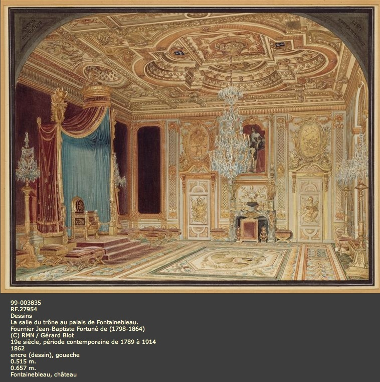 Expo : Napoléon III et Eugénie reçoivent à Fontainebleau Image_67