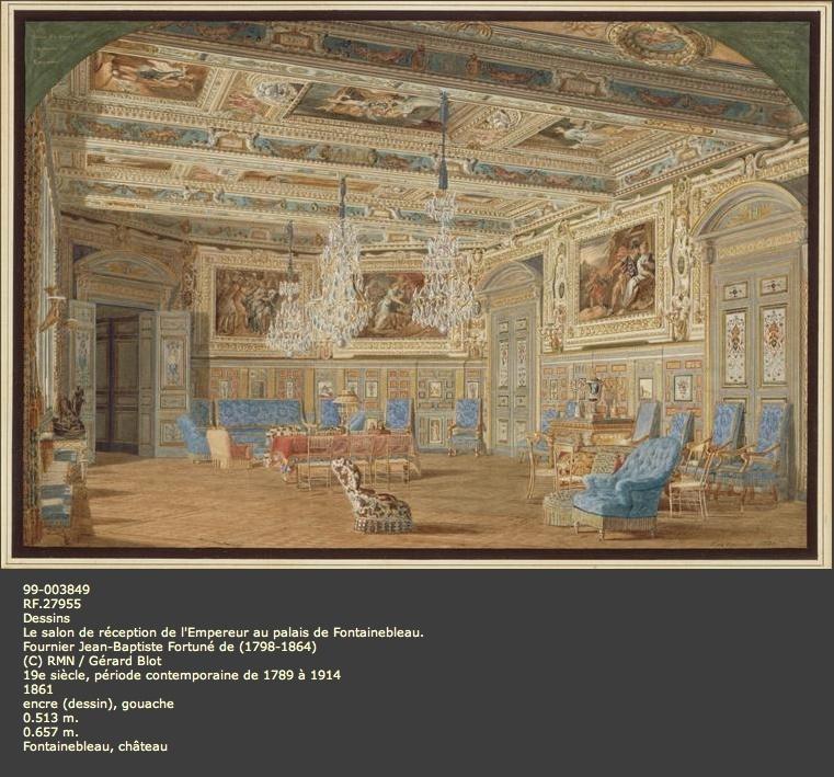 Expo : Napoléon III et Eugénie reçoivent à Fontainebleau Image_68