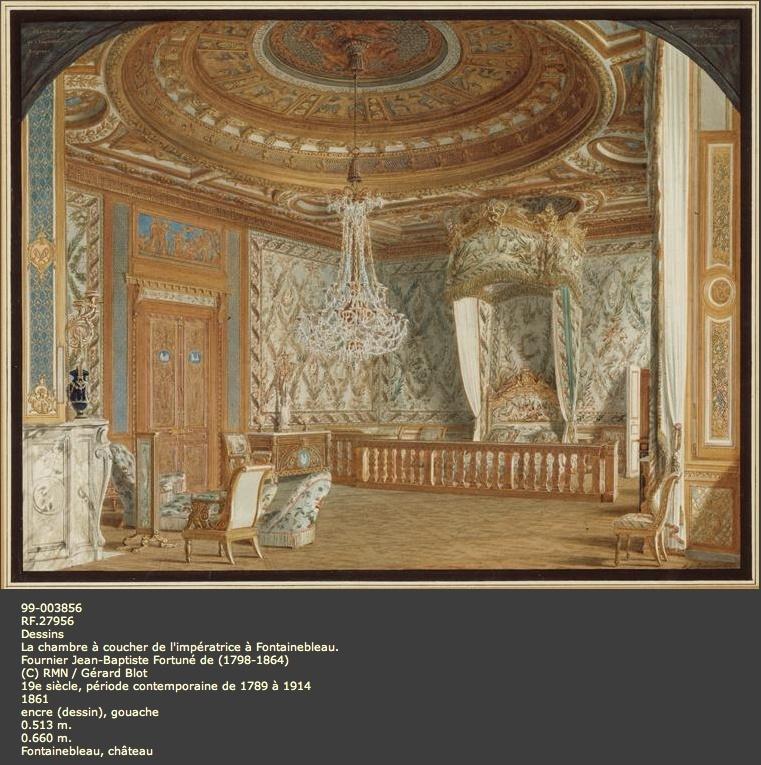 Expo : Napoléon III et Eugénie reçoivent à Fontainebleau Image_69