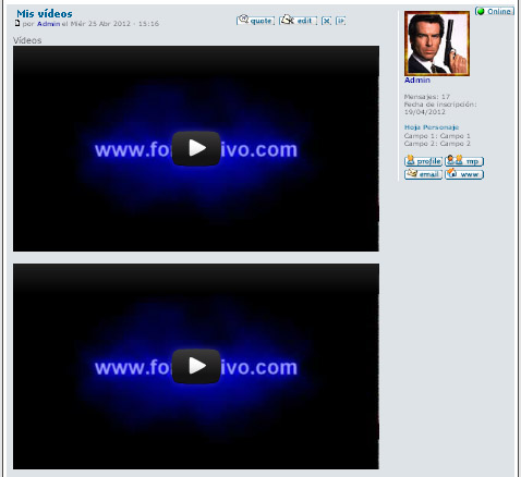 Convertir URL YouTube en vídeo embedded automaticamente Conscr10