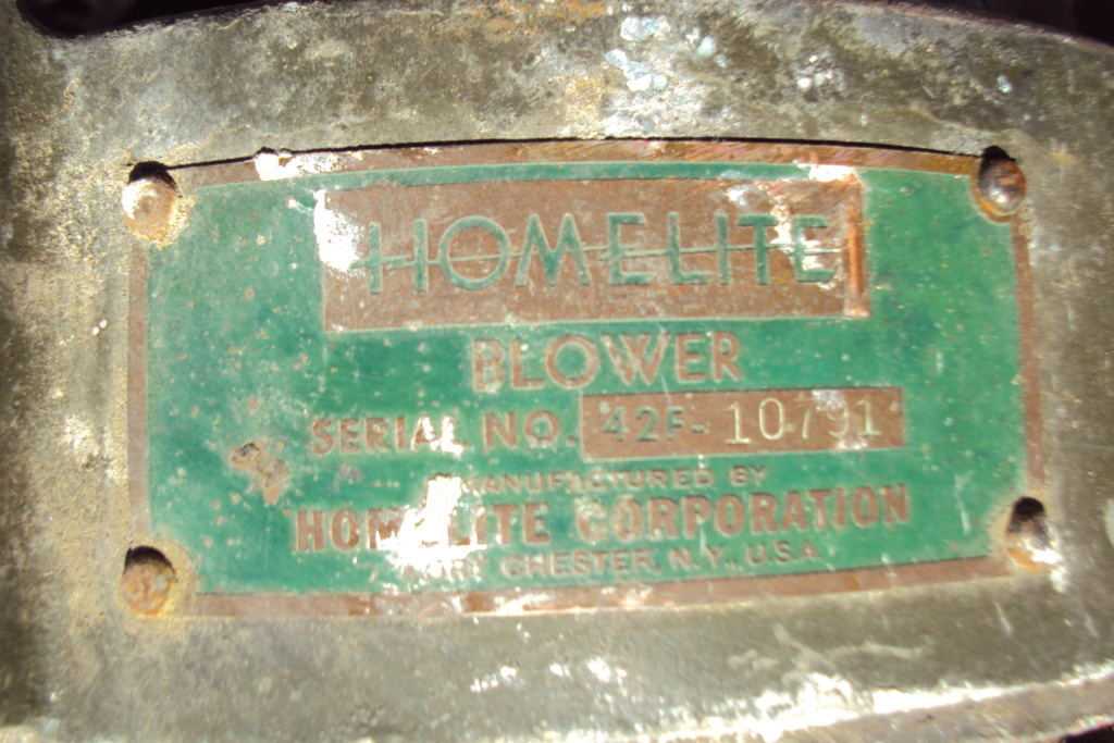 moteur - moteur Homelite Dsc08317
