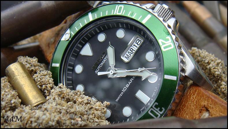 [Photos] Seiko Diver 100 & Hamilton Navy Khaki GMT Seiko_10