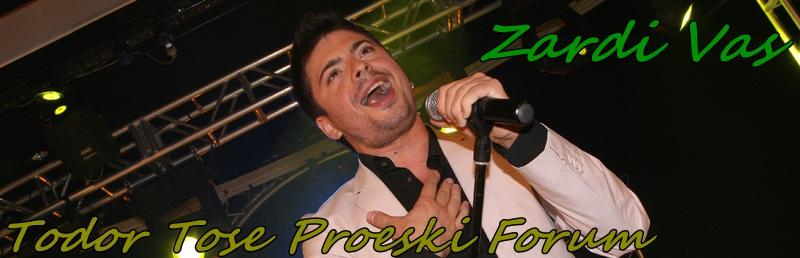 Todor Tose Proeski Forum