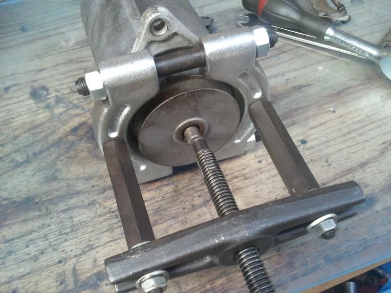 restauration dynamo John Deere 505 2011-017