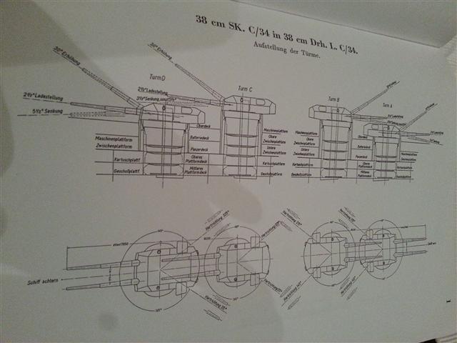 38cm Turm Bismarck kleiner Baubericht 20121125
