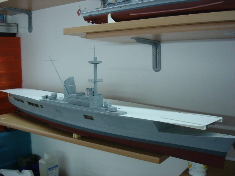 Umbau Seydlitz zum Flugzeugträger Weser Maßstab 1:200 Dsc01310