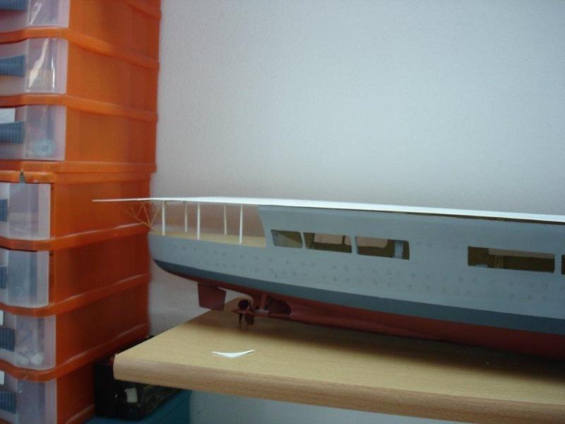 Umbau Seydlitz zum Flugzeugträger Weser Maßstab 1:200 Dsc01311