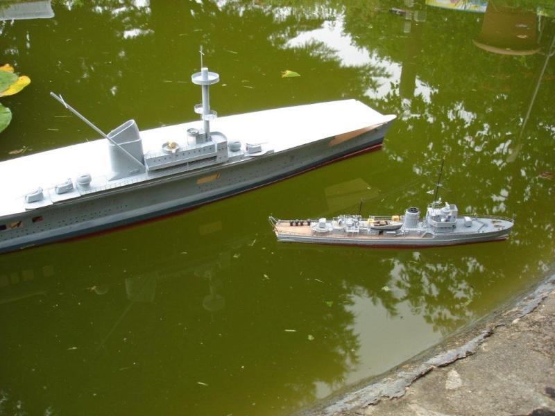Umbau Seydlitz zum Flugzeugträger Weser Maßstab 1:200 Dsc01314