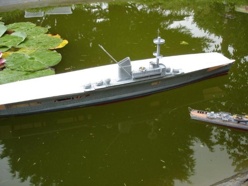 Umbau Seydlitz zum Flugzeugträger Weser Maßstab 1:200 Dsc01315