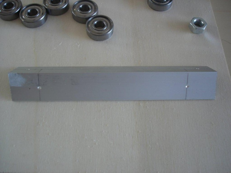 CNC Portalfräse im Eigenbau Fr110