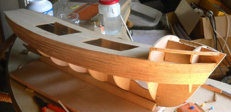 chalutier en bois de chez DMI 00210
