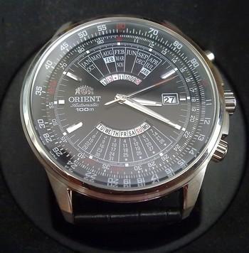 Montre Raketa calendrier perpetuel en anglais et valide jusqu'à... 20111110