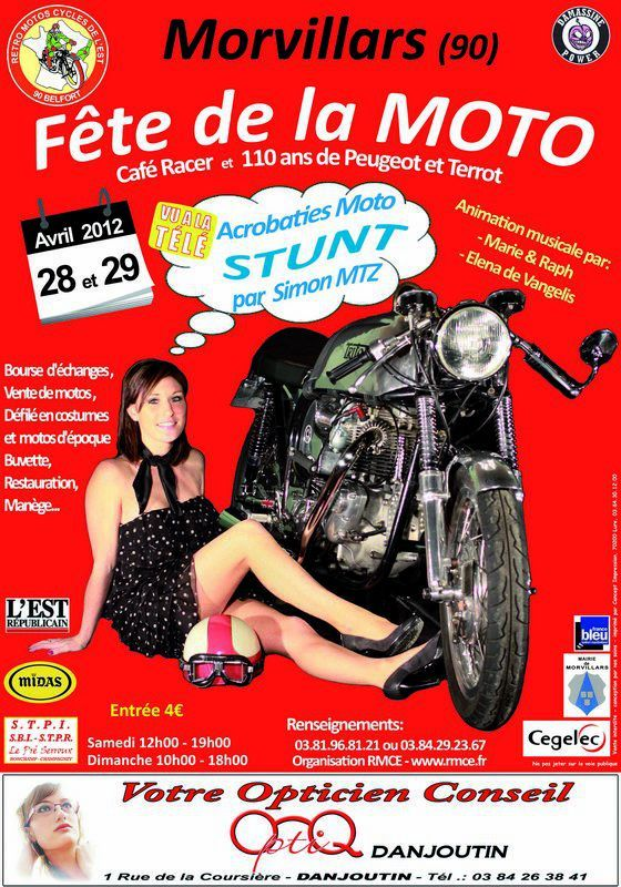 fête de la moto a morvillars 2012 72458110