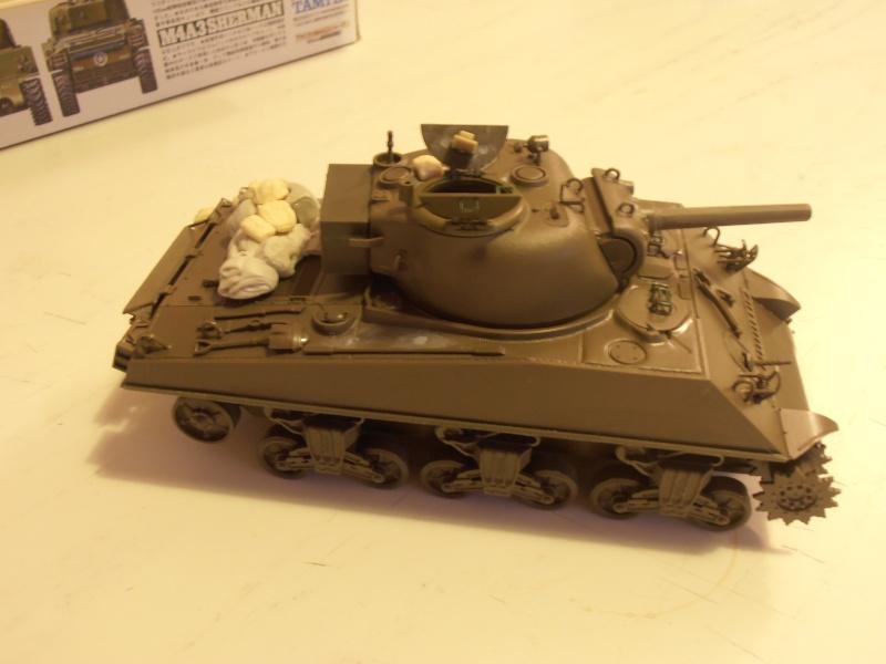 "Sherman 105mm "" La moskowa"" 2eme DB  Termine!!!!!! P1191921"