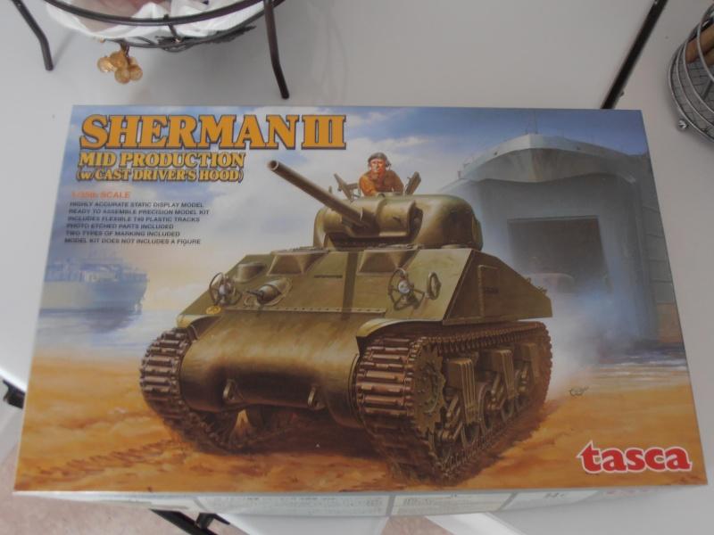"""Sherman MkIII """" Monte cassino """" la peinture. P7200513"""