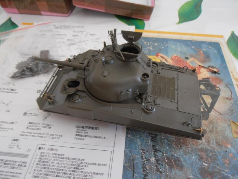"""Sherman MkIII """" Monte cassino """" la peinture. P7230513"""