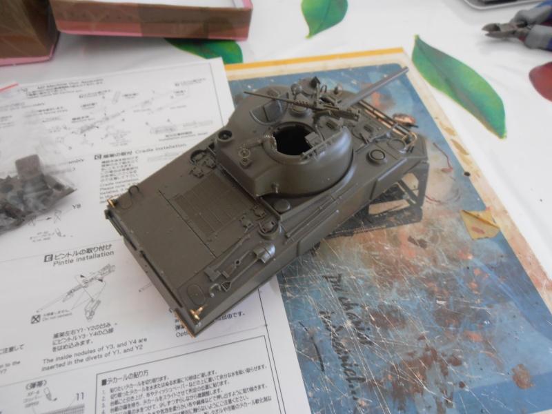 """Sherman MkIII """" Monte cassino """" la peinture. P7230516"""