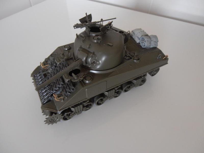 """Sherman MkIII """" Monte cassino """" la peinture. P7240616"""