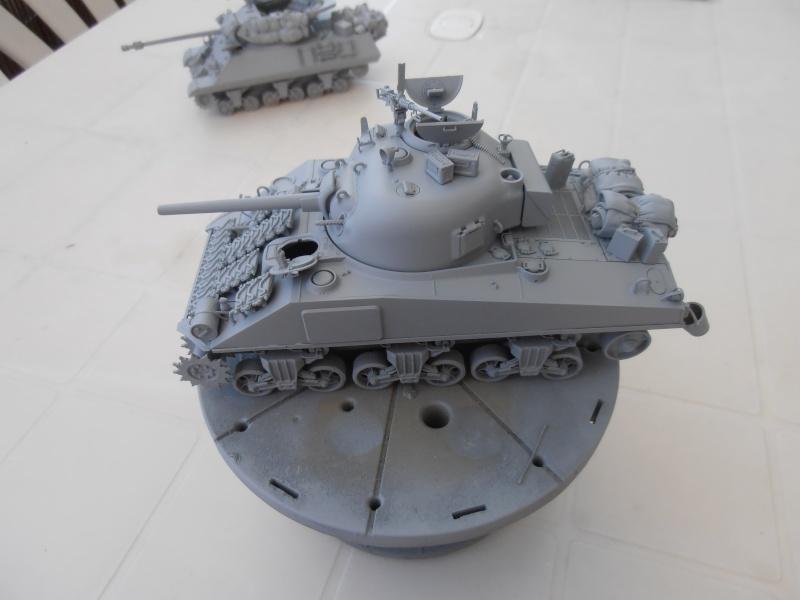"""Sherman MkIII """" Monte cassino """" la peinture. P7260717"""