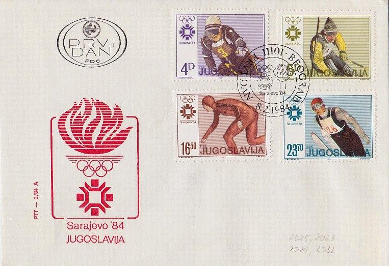 Olympische Winterspiele 1984 Olympi10
