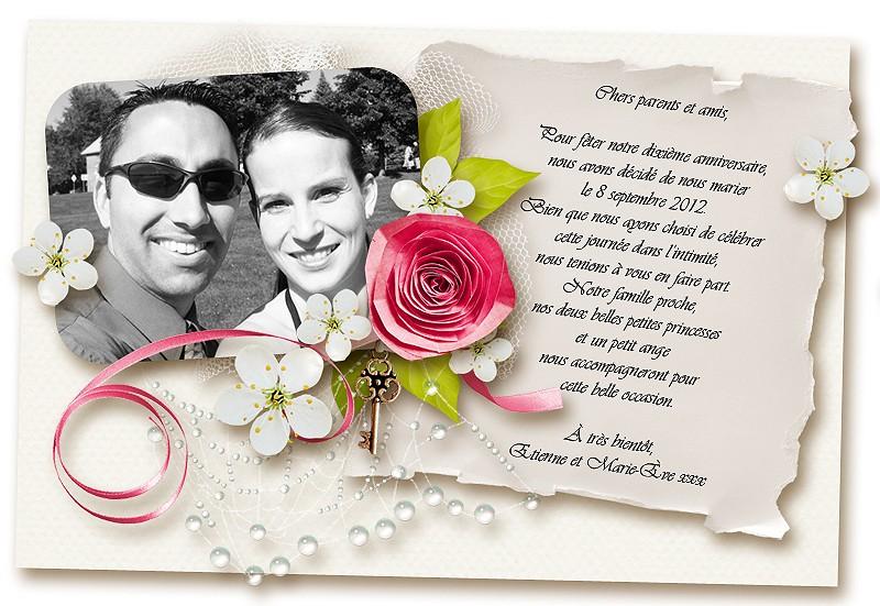 Pour les mariages 2012/2013 :) - Page 3 Mariag10