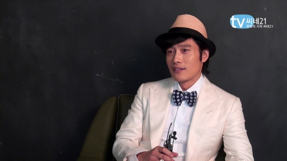 CINE 21 interview de Lee Byung Hun! Cine2119