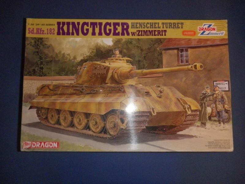 Sd.Kfz.182 Tigre Royal tourelle Henschel (Dragon, 1/35, Kit 6303) Imgp2310