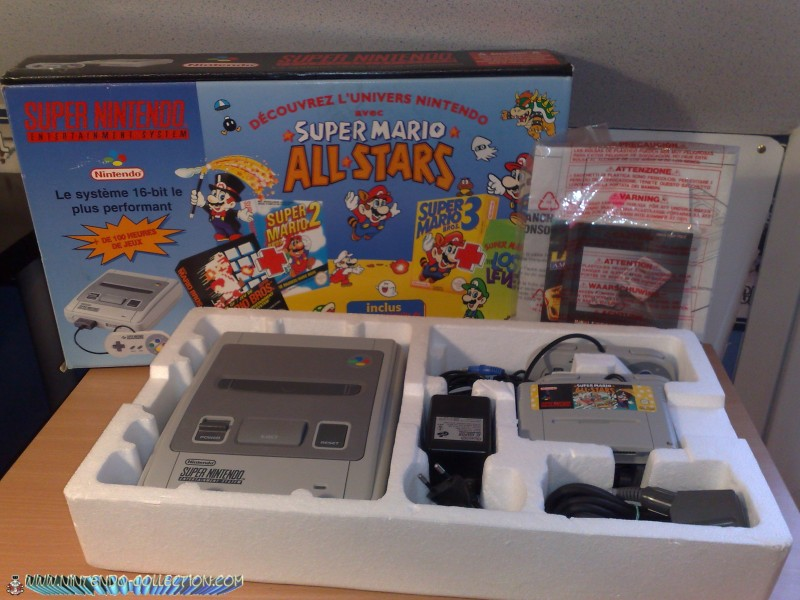 Packs Super Nintendo Mario all stars Mon_2e10