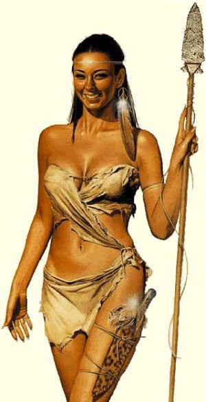 La femme préhistorique, reconstitution Maiden11