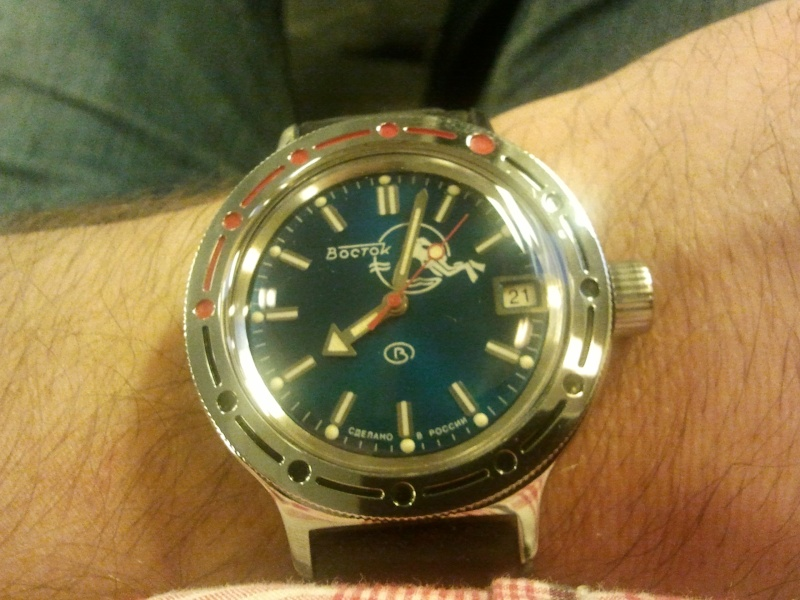 ma nouvelle ToolWatch : Vostok Amphibia 2011-010