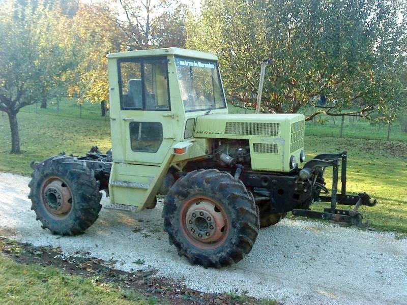 Montage forestier d'un MB Trac 800 Dsc06910