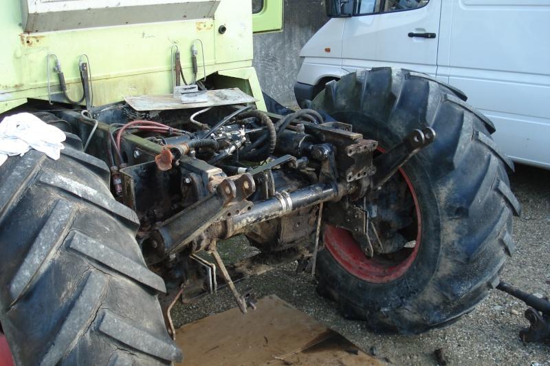 Montage forestier d'un MB Trac 800 Dsc07110