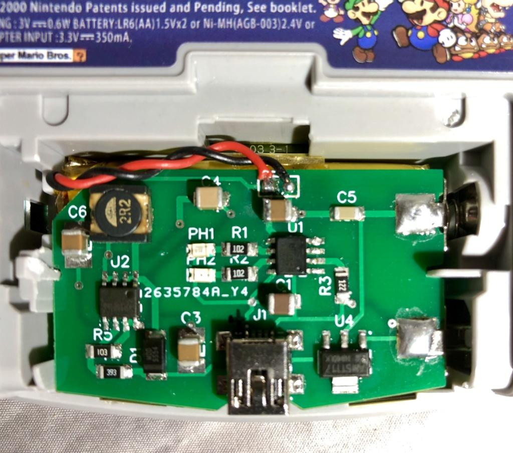 Premier Prototype Batterie GBA Fonctionnelle 06ef4710