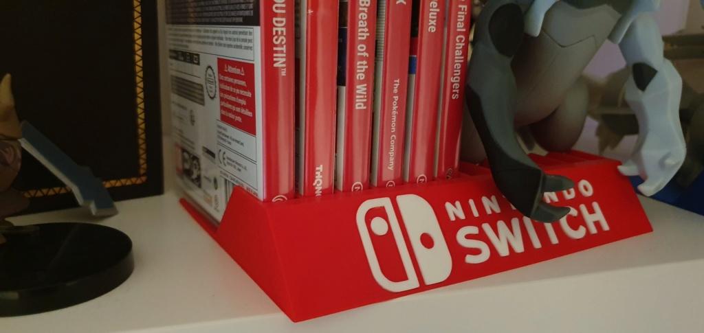 Support pour Rangement Boîte de Jeux Ps4 Switch Wii 24680910