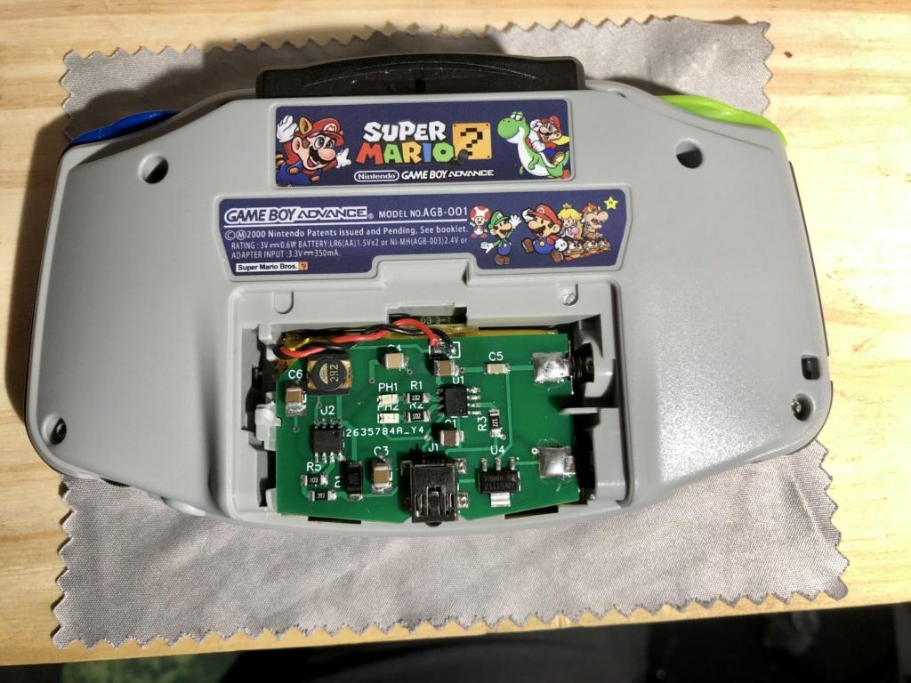 Premier Prototype Batterie GBA Fonctionnelle 34eadc10