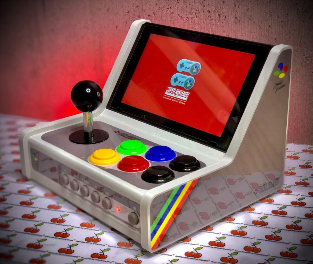 ArcadeSwitch mini Bartop Nintendo Switch full Sanwa 3ea0cd10