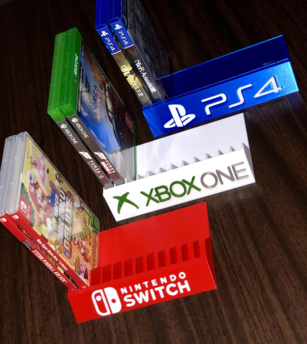 Support pour Rangement Boîte de Jeux Ps4 Switch Wii 45841210