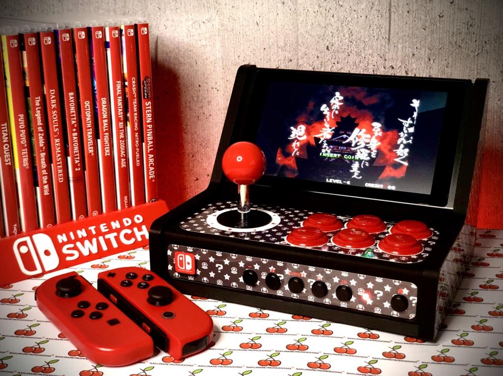 ArcadeSwitch mini Bartop Nintendo Switch full Sanwa 634c7210