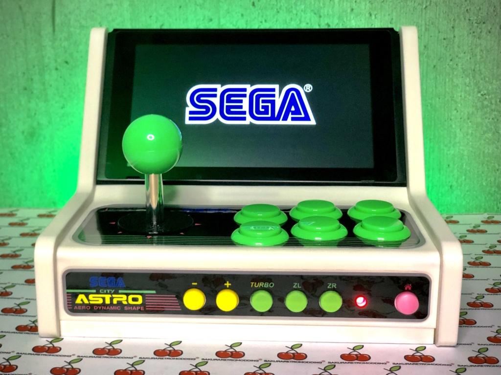 ArcadeSwitch mini Bartop Nintendo Switch full Sanwa 7ae87010