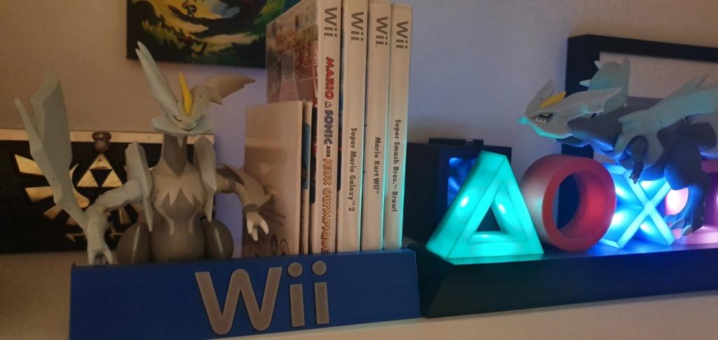 Support pour Rangement Boîte de Jeux Ps4 Switch Wii A17f3010