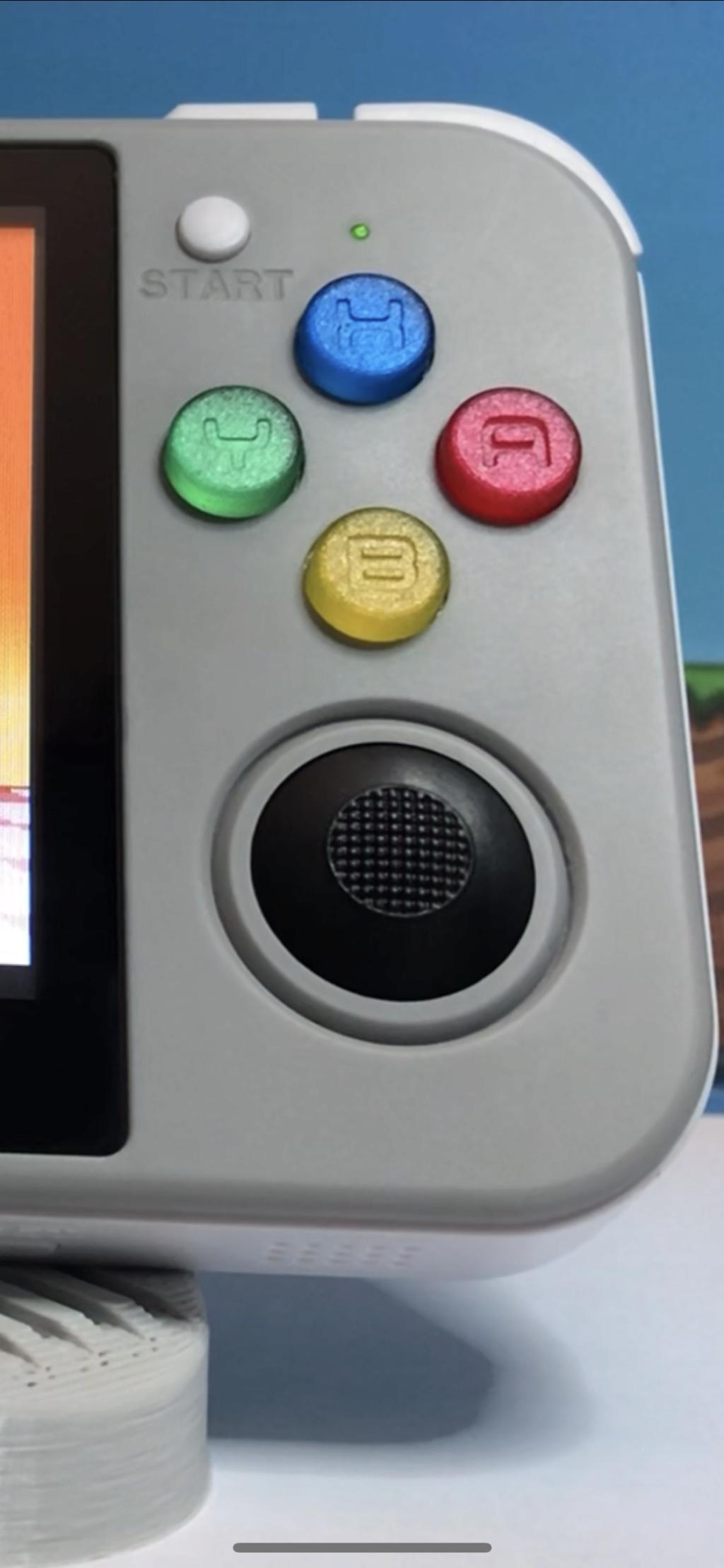 [VDS] Pack Boutons couleurs SNES pour RG350 et Pack Boutons+Sticks Plat A8c5c110