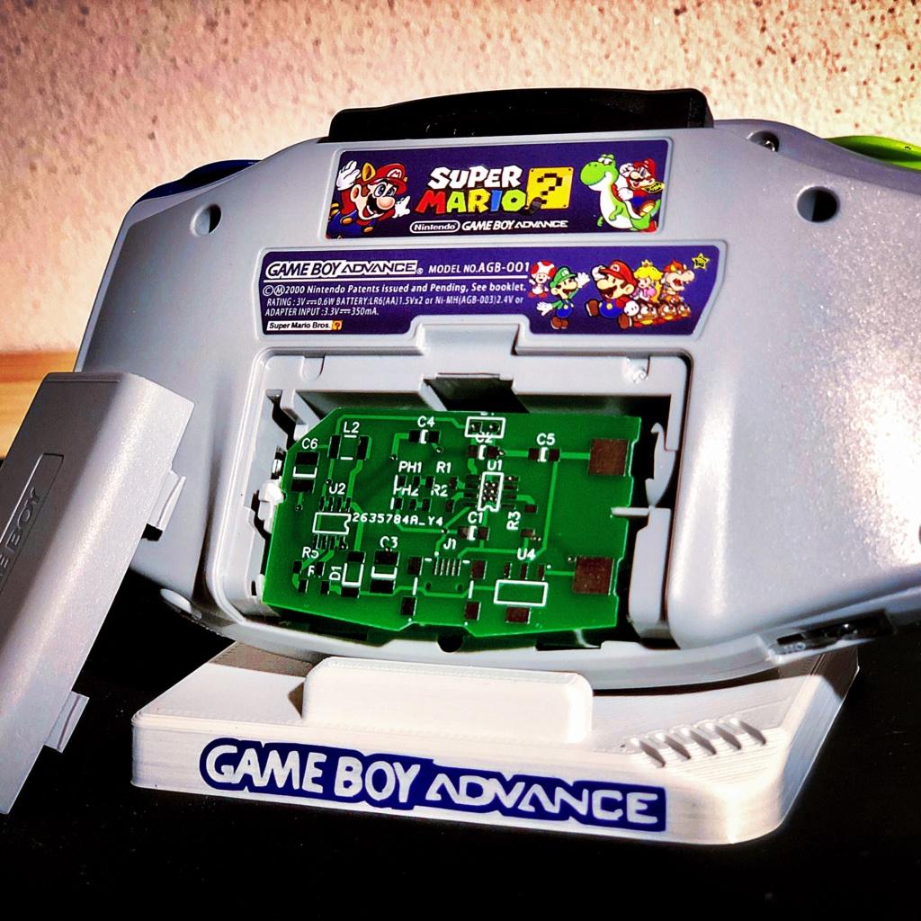 Prototype de Module Batterie pour Gameboy Advance!  B6581610